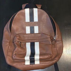 Coach Leather Bookbag